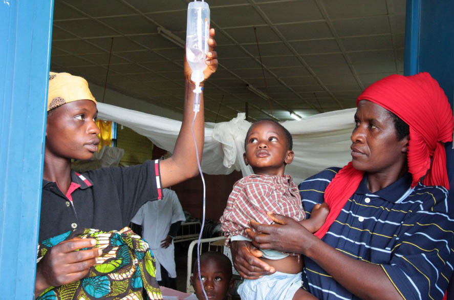 Healthcare & Disease Prevention - Wings of Hope for Africa Foundation.  Photo republished under a Creative Commons License.  Author:  EC/ECHO Martin Karimi