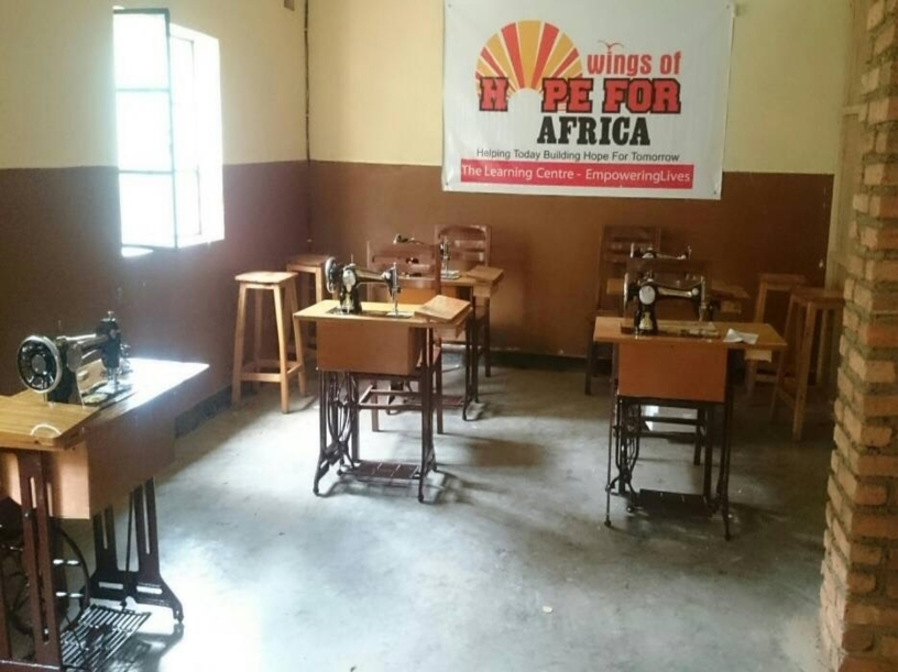 Wings of Hope for Africa Skill Training Center