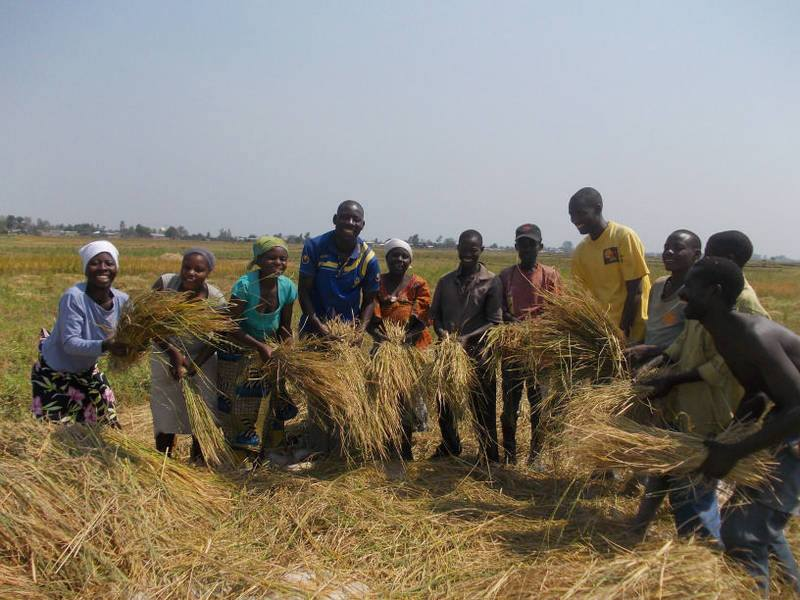 Wings of Hope for Africa Community Garden Project: education and strengthening of traditional methods for self-sufficiency through agriculture