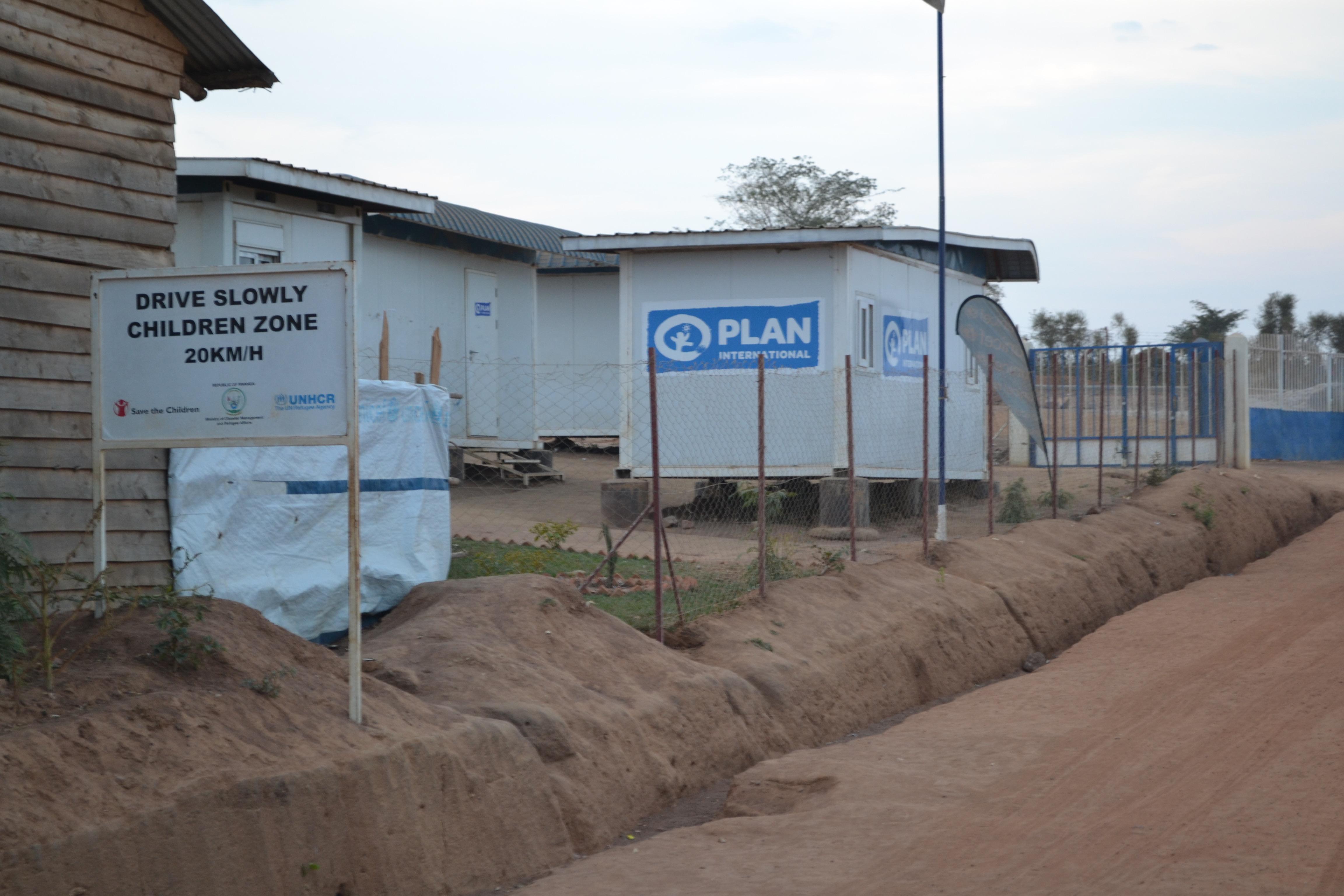 Burundi refugees at the Mahama refugee camp, Rwanda. Photo used with permission of International Plan Rwanda (© Plan International)